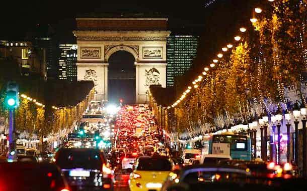 Luces Navidad Paris Campos Eliseos