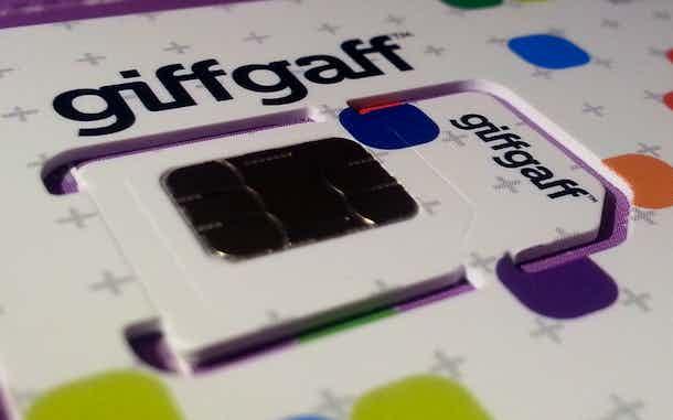 Giff Gaff tarjeta SIM en España