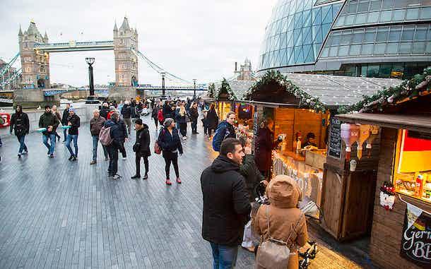 mercados navidad londres london bridge christmas market