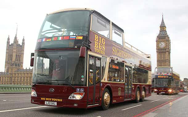 Autobuses turísticos Londres: Big Bus London Tours