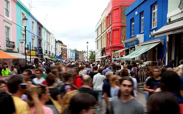 mercado portobello notting hill londres