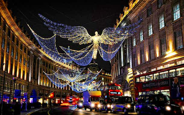 luces navidad londres 2017 regent street
