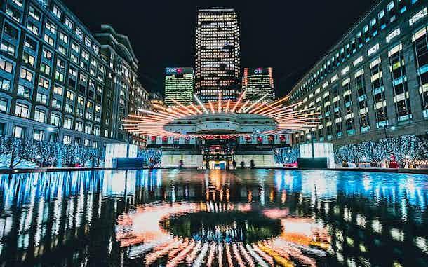Festival Luces Canary Wharf Londres