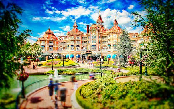 Hoteles Disney Paris Disneyland Hotel
