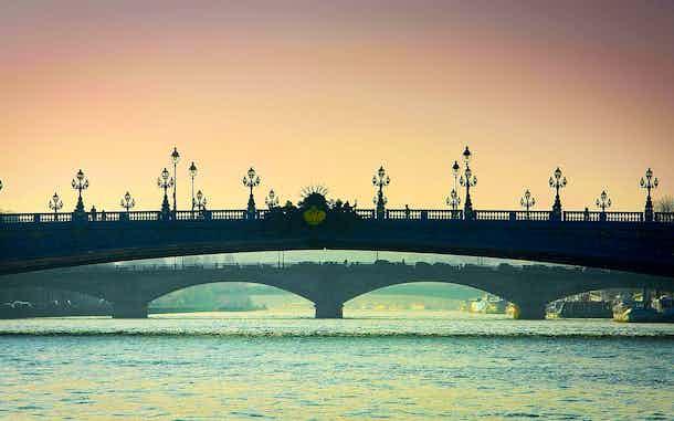 Puentes sobre el Sena Paris Pont Alexandre-Iii