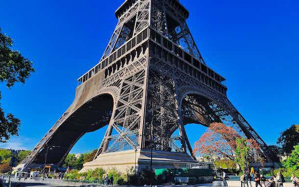 Torre Eiffel Paris desde la base