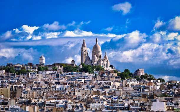 Montmartre Sagrado Corazon Paris