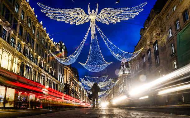 Luces Navidad Londres Regent Street 2017