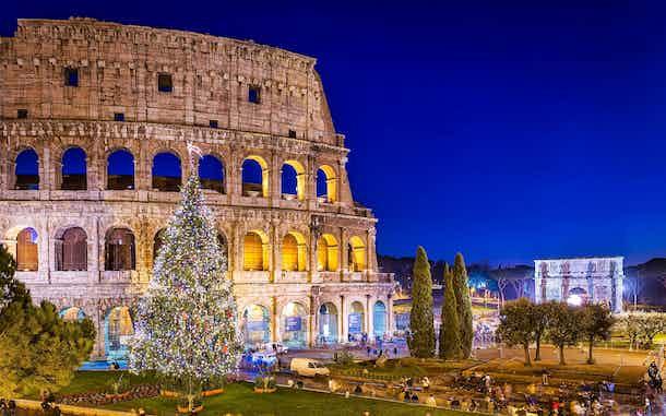 Navidad en Roma Que Hacer Coliseo