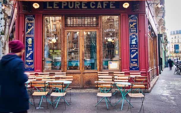 Cafes en Paris Le Pure Cafe