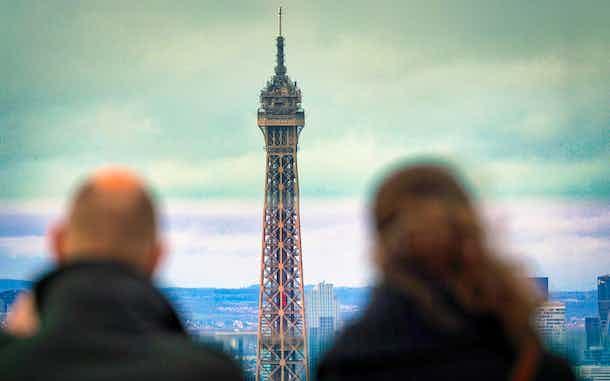 Torre Eiffel último piso Paris