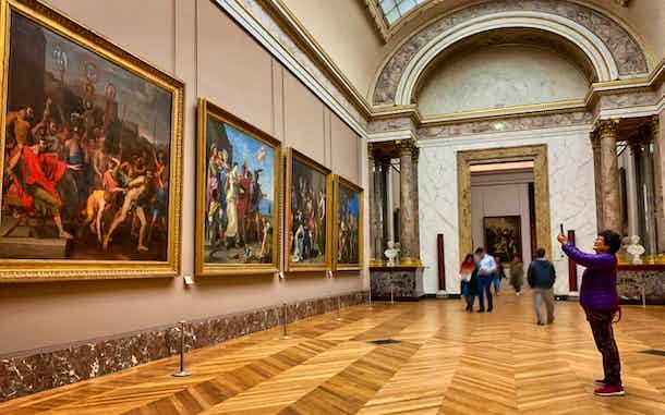 Como visitar el Louvre de París