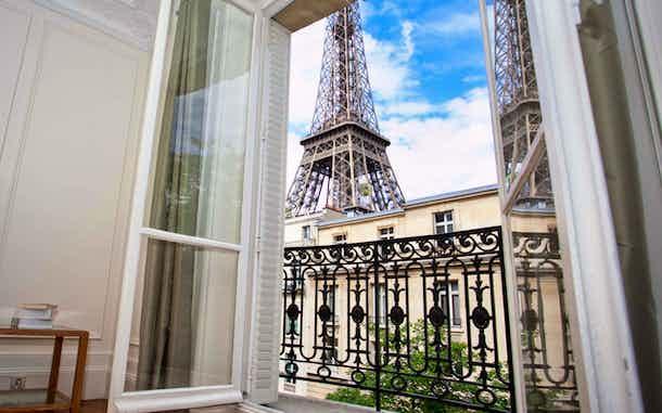 Hoteles Vistas Torre Eiffel Paris